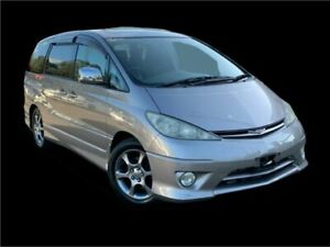 2003 Toyota Estima ACR30 Aeras Grey 4 Speed Automatic Wagon Slacks Creek Logan Area Preview