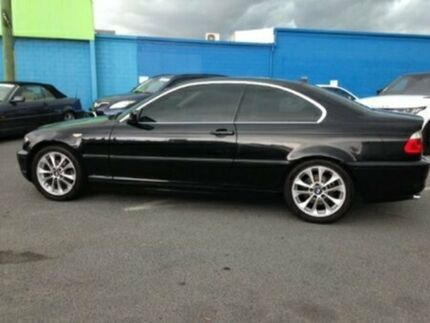 2004 BMW 320CI E46 MY04.5 Steptronic Black 5 Speed Sports Automatic Coupe