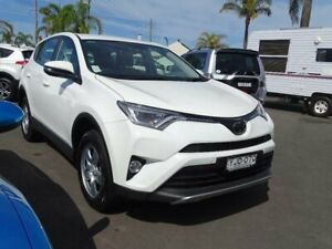 2017 Toyota RAV4 ASA44R MY18 GX (4x4) White 6 Speed Automatic Wagon South Nowra Nowra-Bomaderry Preview