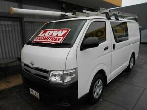 2013 Toyota HiAce TRH201R MY12 Upgrade LWB White 5 Speed Manual Van West Hindmarsh Charles Sturt Area Preview