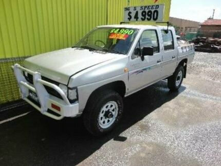 1996 Nissan Navara D21 DX Silver 5 SPEED Manual Utility Kippa-ring Redcliffe Area Preview