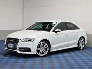 2015 Audi S3 8V MY15 2.0 TFSI Quattro White 6 Speed Direct Shift Sedan Morley Bayswater Area Preview