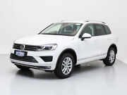 2017 Volkswagen Touareg 7P MY17 150 TDI Element White 8 Speed Automatic Wagon Jandakot Cockburn Area Preview