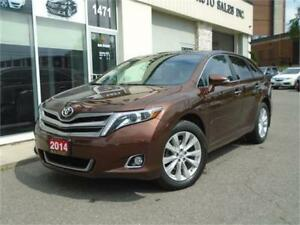 2014 Toyota Venza Limited AWD 4 Cyl. w/Leather/Navi/Pano Roof