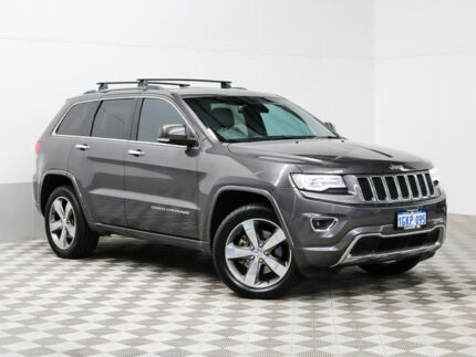 2014 Jeep Grand Cherokee WK MY14 Overland (4x4) Grey 8 Speed Automatic Wagon