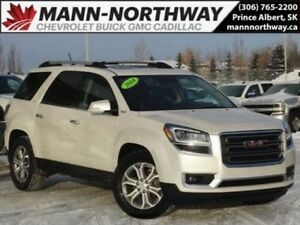2014 GMC Acadia SLT2 | Navigation, Leather, Heated/Cooled Seats.