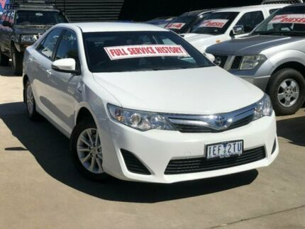 2015 Toyota Camry AVV50R Hybrid H Silver Continuous Variable Sedan Werribee Wyndham Area Preview