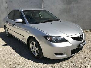 2008 Mazda 3 BK MY08 Neo Sport Silver 4 Speed Auto Activematic Sedan Seaford Frankston Area Preview
