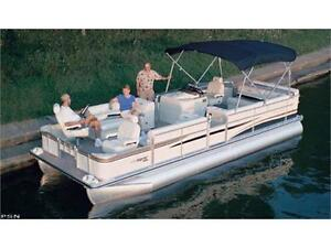 ***SOLD***HIGH-PERFORMANCE PONTOON*** TRITOON SUPERCHARGED 150HP Peterborough Peterborough Area image 1