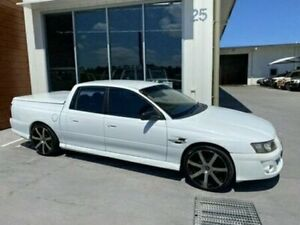 2006 Holden Crewman VZ MY06 DUAL CAB White Automatic Utility Bells Creek Caloundra Area Preview