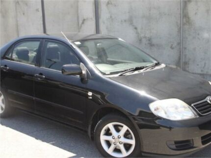 2007 Toyota Corolla ZZE122R 5Y Ascent Black Automatic Hatchback