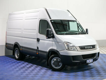 2011 Iveco Daily MY07 50C18 MWB/Med White Van 3.0l RWD