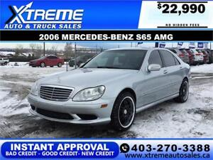 2006 MERCEDES-BENZ S65 AMG APPLY NOW DRIVE NOW