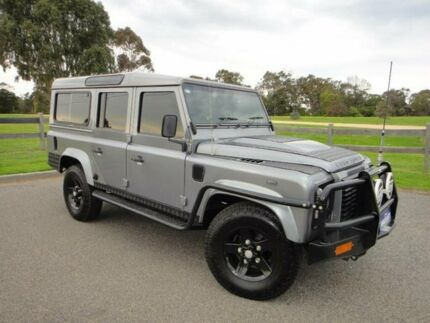2012 Land Rover Defender MY12 110 (4x4) Orkney Grey 6 Speed Manual Wagon