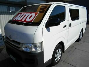 2010 Toyota HiAce KDH201R MY07 Upgrade LWB White 4 Speed Automatic Van West Hindmarsh Charles Sturt Area Preview
