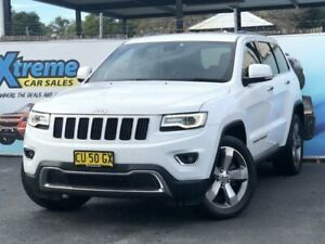 2014 Jeep Grand Cherokee WK MY2014 Limited White Sports Automatic Wagon Campbelltown Campbelltown Area Preview