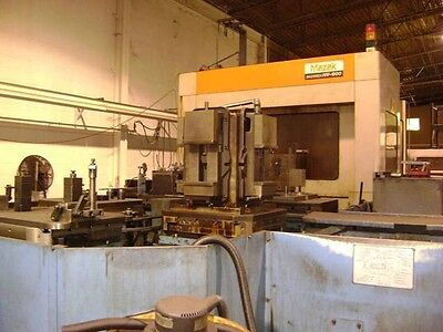 1993 Mazak Hv-800 5 Axis 6 Pallet Hmc- Under Power