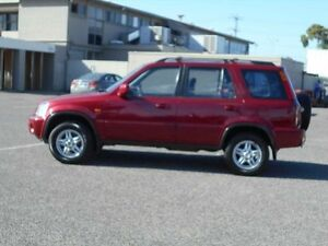 2000 Honda CR-V (4x4) Sport Red 5 Speed Manual 4x4 Wagon Maidstone Maribyrnong Area Preview