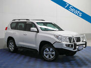 2010 Toyota Landcruiser Prado KDJ150R GXL (4x4) White 5 Speed Sequential Auto Wagon East Rockingham Rockingham Area Preview