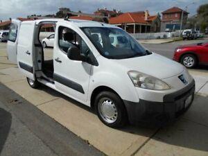 2012 Peugeot Partner B9P 1.6 HDi White 5 Speed Manual Van Fremantle Fremantle Area Preview