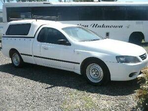 2007 Ford Falcon BF Mk II XL Super Cab White Automatic Cab Chassis Nanango South Burnett Area Preview