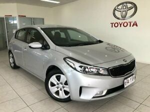 2017 Kia Cerato YD MY17 S Silver 6 Speed Auto Seq Sportshift Hatchback Bungalow Cairns City Preview
