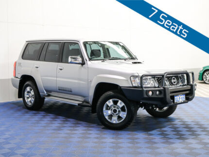 2016 Nissan Patrol GU Series 10 ST (4x4) Silver 5 Speed Manual Wagon Morley Bayswater Area Preview