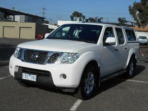 2014 Nissan Navara D40 MY12 ST (4x2) White 5 Speed Automatic Dual Cab Pick-up Maidstone Maribyrnong Area Preview
