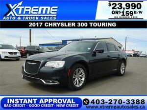 2017 CHRYSLER 300 TOURING *INSTANT APPROVAL* $0 DOWN $159/BW!