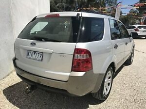 2008 Ford Territory SY MY07 Upgrade TX (RWD) Silver 4 Speed Auto Seq Sportshift Wagon Seaford Frankston Area Preview