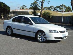 2003 Ford Falcon BA XT White 4 Speed Auto Seq Sportshift Sedan Maidstone Maribyrnong Area Preview