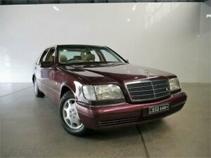 1996 Mercedes-Benz S420 W140 Ruby Metallic 4 Speed Automatic Sedan Petersham Marrickville Area Preview