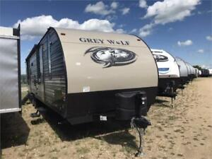 ALL TRAILERS MUST GO THIS SEASON!! Grey Wolf 29TE
