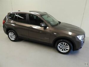 2011 BMW X3 F25 xDrive28i Gold Automatic Wagon Coburg North Moreland Area Preview