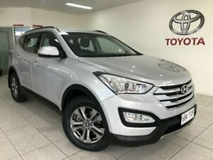 2014 Hyundai Santa Fe DM MY15 Active CRDi (4x4) Silver 6 Speed Automatic Wagon Bungalow Cairns City Preview