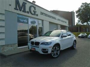 2013 BMW X6 35i M-PKG XDRIVE w/Leather/Roof/Navi