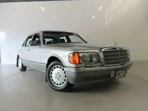 1986 Mercedes-Benz 420 SEL Astral Silver 4 Speed Automatic Sedan Petersham Marrickville Area Preview