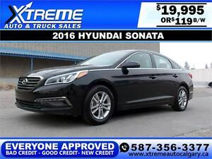 2016 Hyundai Sonata $119 BI-WEEKLY APPLY NOW DRIVE NOW