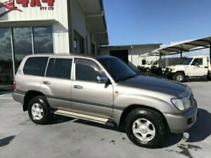 2003 Toyota Landcruiser HDJ100R GXL Grey Automatic Wagon Bells Creek Caloundra Area Preview