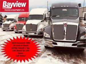 2019 Kenworth T680 Inventory Reduction Sale!