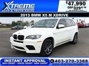 2013 BMW X5 M XDRIVE $329 Bi-Weekly APPLY NOW DRIVE NOW
