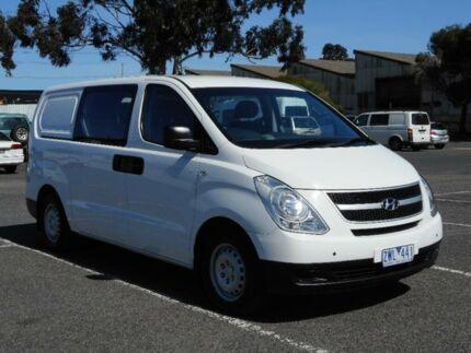 2013 Hyundai iLOAD TQ MY13 Crew White 5 Speed Automatic Van Braybrook Maribyrnong Area Preview
