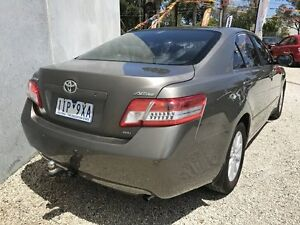 2010 Toyota Camry ACV40R 09 Upgrade Altise Brown 5 Speed Automatic Sedan Frankston North Frankston Area Preview