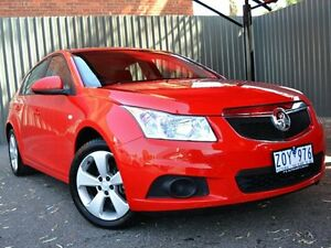 2013 Holden Cruze JH Series II MY13 Equipe Red 5 Speed Manual Hatchback Fawkner Moreland Area Preview