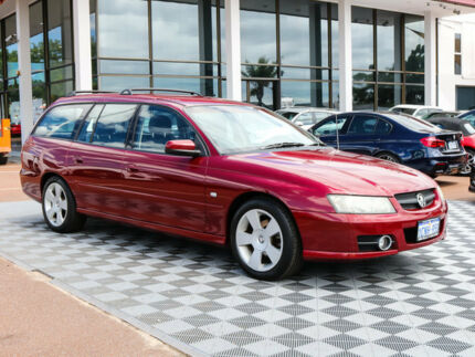 2007 Holden Commodore VZ@VE SVZ 352n Red 4 Speed Automatic Wagon