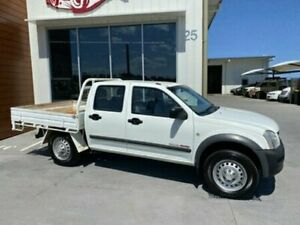 2006 Holden Rodeo RA MY06 LX DUAL CAB White Manual Utility Bells Creek Caloundra Area Preview
