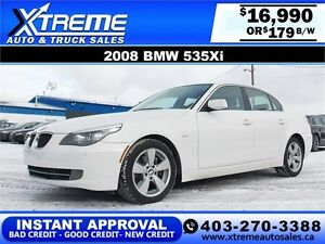 2008 BMW 535XI AWD $179 BI-WEEKLY APPLY NOW DRIVE NOW