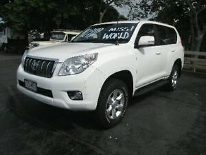 2009 Toyota Landcruiser Prado KDJ150R GXL White 5 Speed Sports Automatic Wagon Coopers Plains Brisbane South West Preview