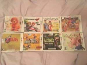 Nintendo DS/3DS Games for Children/Adults