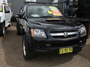 2009 Holden Colorado RC MY09 LX Crew Cab Black 5 Speed Manual Utility Mount Druitt Blacktown Area Preview
